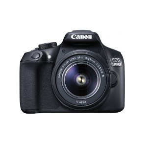 Canon EOS 1300D DSLR + 18-55mm III + 75-300mm III Lens