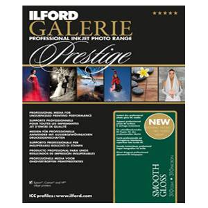 Ilford Galerie Prestige Smooth Gloss A3 - 25 Sheets