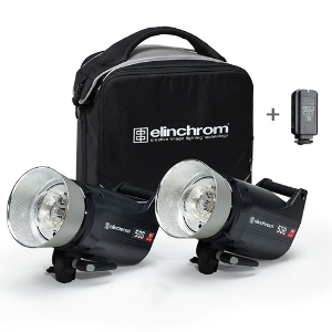Elinchrom ELC Pro 500/500 To Go Set with Skyport Plus and Carry Bag