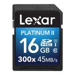 Lexar Platinum II 300x SDHC Memory Card 16GB
