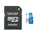 Lexar Micro SD - 16GB - 300X (45 MB/s) with SD Adapter