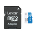 Lexar Micro SD –32GB - 300X (45 mb/s) with SD Card Adapter