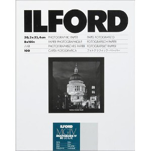 Ilford Multigrade IV RC Deluxe Pearl Paper 8x10 inch – 100 Sheets