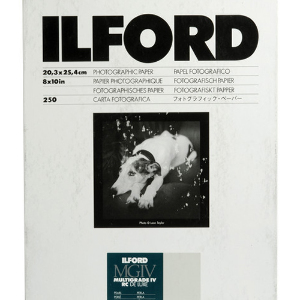Ilford Multigrade IV RC Deluxe Pearl Paper 8x10 inch – 250 Sheets