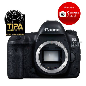 Canon EOS 5D Mark IV DSLR - Body Only