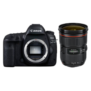 Canon EOS 5D Mark IV DSLR + 24-70mm f/2.8L II Lens