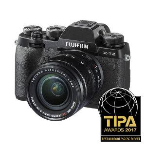 Fujifilm X-T2 + 18-55mm f/2.8-4.0 R OIS Lens