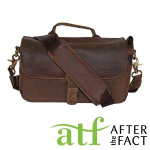 ATF Olive Genuine Leather Camera Bag