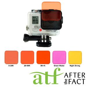 ATF Dive Filter Kit for GoPro