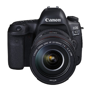 Canon EOS 5D Mark IV DSLR + 24-105mm F/4L IS II USM Lens