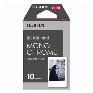 Fujifilm Instax Mini Monochrome Film (10 Pack)