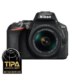 Nikon D5600 DSLR + 18-55mm f3.5-5.6G VR Lens