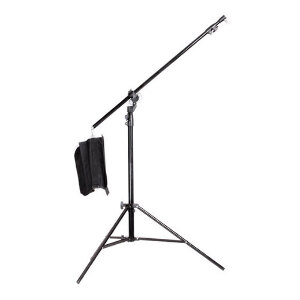 Jinbei 2 in 1 Convertible 2.9m Light Stand with built in 2.2m Boom Arm - JBM3BOOM