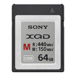 Sony XQD M Series Memory Card 440MB/s 64GB