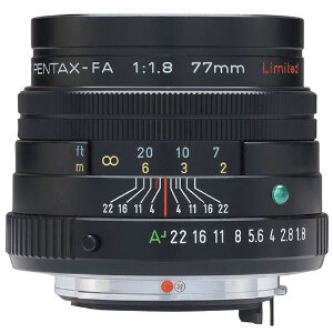 Pentax Lens SMC FA 77mm f/1.8 Limited Edition