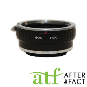 ATF Lens Adapter for EF Mount Lens to E Mount Camera Body