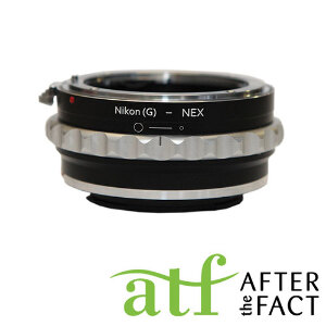 ATF Lens Adapter for Nikon F Mount G Series Lens to E Mount Camera Body
