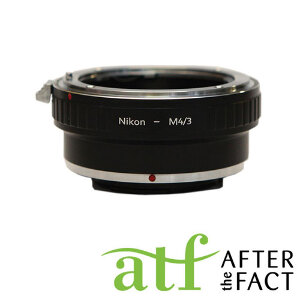 ATF Lens Adapter for Nikon F Mount AI (G) Lenses to MFT Camera Body