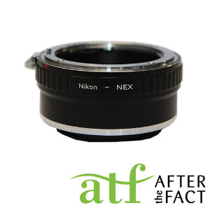 ATF Lens Adapter for Nikon F Mount AI Lens to E Mount Camera Body