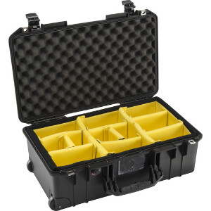 Pelican 1535 Medium Wheeled Air Case - With Dividers