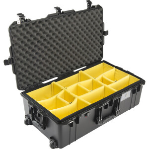 Pelican 1615 Large Wheeled Air Case - With Dividers
