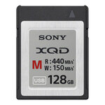 Sony XQD M Series Memory Card 440MB/s 128GB