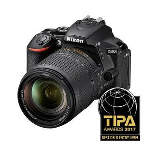 Nikon D5600 DSLR + 18-140mm f/3.5-5.6G ED VR Lens