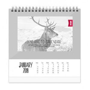 Shot2Go 2018 Desktop Photo Calendar