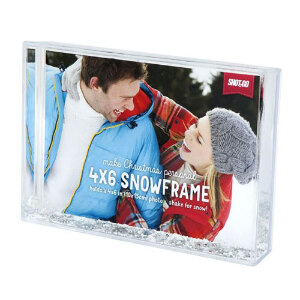 Shot2Go Snow Photo Frame - 6x4""