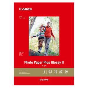 Canon Photo Paper Plus Glossy II  A3 20 Pk