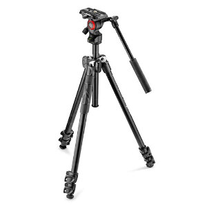 Manfrotto 290 Light Tripod + Befree Live Fluid Head