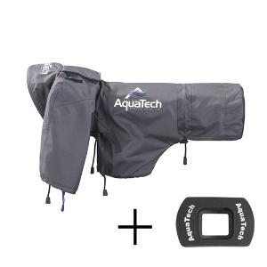 AquaTech SSRC Sports Shield Rain Cover + Eyepiece - Large