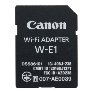 Canon W-E1 Wi-Fi Adapter for 7D Mark II, 5DS and 5DS R