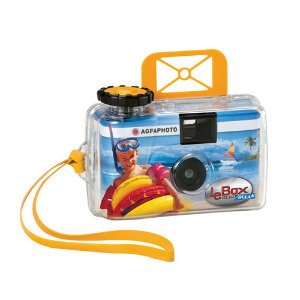 AgfaPhoto LeBox Ocean 35mm Disposable Waterproof Camera