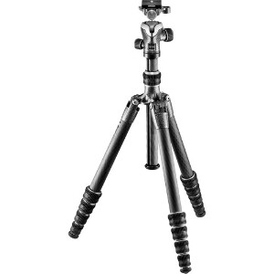 Gitzo Traveler Series 1 – 5 Section Carbon Fibre Tripod + Ball Head #GK1555T-82TQD
