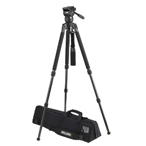 Miller Compass 15 Solo 75 2-Stage Alloy Tripod System - 1831