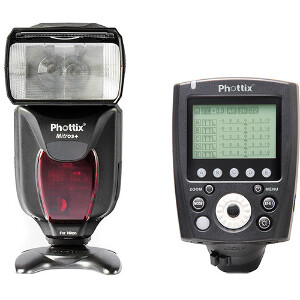 PhottixMitros+ TTL Transceiver Flashwith Odin II TTL Flash Trigger Kit for Canon / Nikon