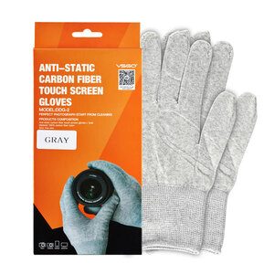 VSGO Carbon Fibre Anti-Static Touch-Screen Gloves