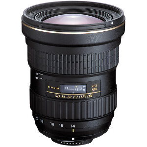 Tokina 14-20mm AT-X PRO DX f/2Wide Angle Lens