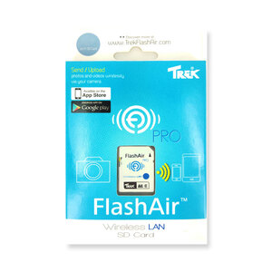 TrekFlashAirPro Wireless SD Card - 16GB