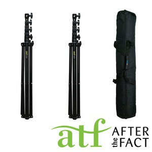 ATF The Master Light Stand Double Kit + Carry Case