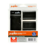 Jupio Rechargeable LP-E6 Charger Kit
