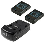 Jupio Rechargeable Nikon EN-EL14 Charger Kit
