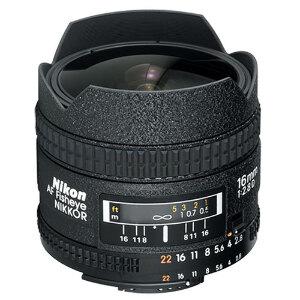 Nikon AF Nikor 16mm f/2.8D Fisheye Lens