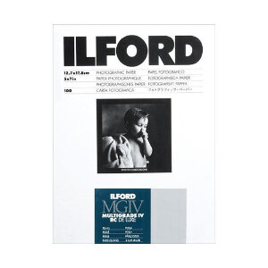 Ilford Multigrade IV RC Deluxe MGD.44M Black & White Variable Contrast Paper Pearl - 5x7 inch - 250 Sheets