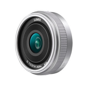 Panasonic Lumix G 14mm f/2.5 II ASPH Lens - Silver Colour