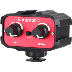 Saramonic SR-AX100 2-Channel Audio Adapter