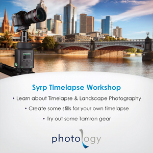Landscape & Low Light Workshop with Project Rawcast – 29/01/2018 - Melbourne