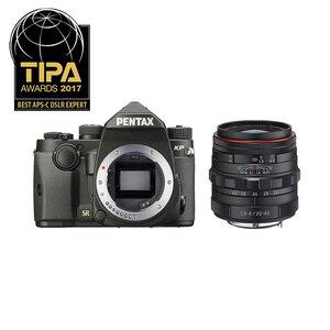 Pentax KP DSLR + 20-40mm f/2.8-4 ED DC WR Lens