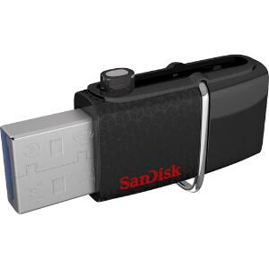 SanDisk Ultra Dual USB 3.0 Flash Drive 64GB